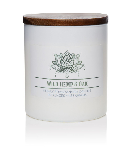 Duftkerze Wild Hemp and Oak - 453g